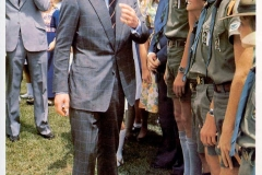 In 1981 H.R.H. the Prince of Wales visits St. Paul's School.